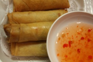 Deep Fried Egg Rolls
